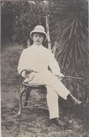 CP Photo Tonkin - Thai Nguyen - L. Auger Administrateur En Tenue Coloniale (voir Verso) - Viêt-Nam