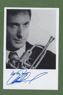 DAVID WEISS AUTOGRAPHE / AUTOGRAMM  Original Signed  Photo 10x15 Cm *JAZZ* - Autographes