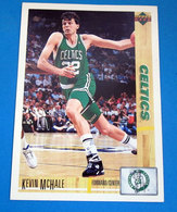 KEVIN MCHALE   CARDS NBA FLEER 1992 N 33 - Altri