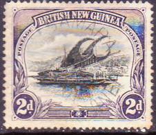 PAPUA (BRITISH NEW GUINEA) 1901 SG #3 2d Used Wmk Horizontal Small Thin On Back - Papúa Nueva Guinea