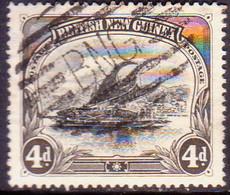 PAPUA (BRITISH NEW GUINEA) 1901 SG #5 4d Used Wmk Horizontal CV £35 - Papoea-Nieuw-Guinea