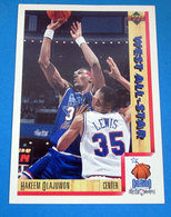 HAKEEN OLAJUWON   CARDS NBA FLEER 1992 N 24 - Altri