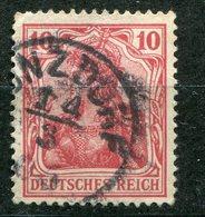 Deutsches Reich -  Mi. 86 (o) - Oblitérés