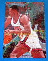 KEVIN EDWARDS   CARDS NBA FLEER 1996 N 308 - Altri