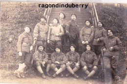 CPA PHOTO - POLOGNE - TESCHEN -CIESZYN - MILITARIA - 15è BCA QUARTIER ST CHARLES JZOLIRE Conflit POLOGNE TCHECOSL 1920 - Poland