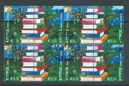Cyprus 2010 Europa Library Books Pane Of 4 Pairs FU - Cyprus (Republic)