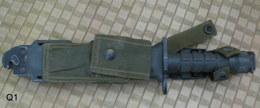 MILITAIRE ARMÉE - Baionette US PAT NO 4.821.356  M9A1 PHROBIS INT'L SPAIN En L'état N° 10 à Identifier Au Cas Ou ! - Armes Blanches