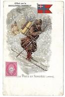 La Poste En NORVEGE - Offert Par La Chocolaterie D'Aiguebelle - Montenegro