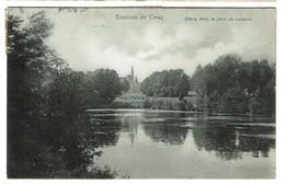 Environs De Ciney - Etang Dans Le Parc De Leignon - 1913 - Edit. Nels Serie 184/52 - 2 Scans - Ciney
