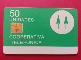 ARGENTINA - 50u Chip Test Trial Verde Coperativa Telefonica CN Back RR (CB1217 - Argentine