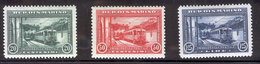 SAN MARINO 1932 San Marino-Rimini Electric Railway Scott Cat. No(s). 139-141 MH (Short Set) - San Marino