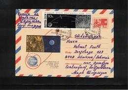 Russia SSSR 1970 Space / Raumfahrt   Interesting Cover - UdSSR