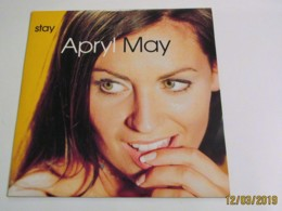 Maxi 33T APRYL MAY : Stay - Dance, Techno & House