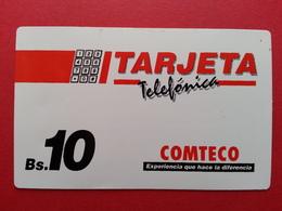 Bolivia COMTECO Daruma URMET 20u Inductive TEST BOLIVIE BOLIVIEN Mint Unused Neuve (CB1217) - Bolivie