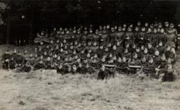 """BELGIQUE - III ème Bataillon 2ème Compagnie De Mitrailleuses Elsenborn 192(...) - Mitrailleuse """"Maxime"""" Modèle 1908. - Régiments"""