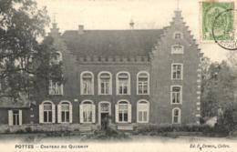 BELGIQUE - HAINAUT - CELLES - POTTES - Château Du Quesnoy. - Celles