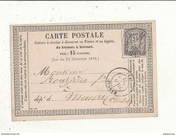 CARTE POSTALE D AMINISTRATION DE BUREAU A BUREAU  CPA BON ETAT - Postal Services