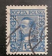 POLOGNE  N°  345  OBLITERE - 1919-1939 Republic