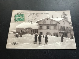 LES ROUSSES 5 Mars 1923 - Effet De Neige - 1923 Timbrée - Otros Municipios