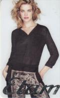 FRANCE - Natalia Vodianova, Etam Gift Card, Unused - Gift Cards