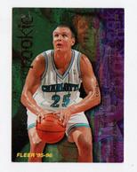 GEORGE ZIDEK   CARDS NBA FLEER 1996 N 388 - Trading Cards