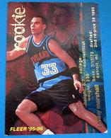 DONNY MARSHALL   CARDS NBA FLEER 1996 N 366 - Altri