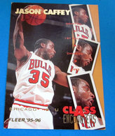 JASON CAFFEY   CARDS NBA FLEER 1996 N 451 - Trading Cards