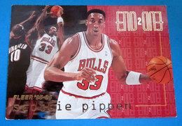 SCOTTIE PIPPEN   CARDS NBA FLEER 1996 N 485 - Trading Cards
