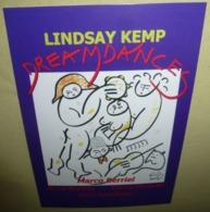 Carte Postale - Lindsay Kemp In Dream Dances - Teatro Olimpico - Publicité