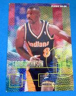 EDDIE JOHNSON   CARDS NBA FLEER 1996 N 296 - Trading Cards
