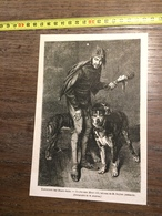 1866 GRAVURE UN FOU SOUS HENRI 3 III TABLEAU DE ROYBET - Collections