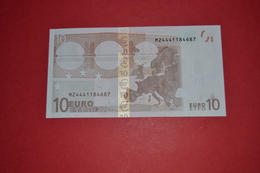 10 EURO PORTUGAL U007B3 - Serial Number  M24441184687 - Perfect UNC - 10 Euro