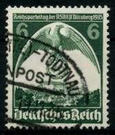 3. REICH 1935 Nr 580 Gestempelt X729686 - Allemagne