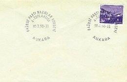 TURKEY, Discount Sale, 1958, Cover - 1921-... República