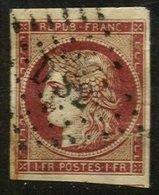 FRANCE, Discount Sale, Classics, Yv 6b, Used, F/VF, Cat. € 1000 - 1849-1850 Cérès
