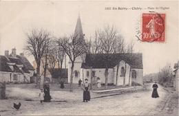 18 En Berry - CHÉRY - Place De L'Église - Animée - Culan
