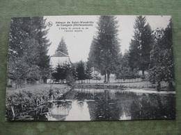 HERBEUMONT - ABBAYE DE ST. WANDRILLE DE CONQUES - L'ETANG DU PRIEURE VU DE L'ANCIEN MOULIN ( Scan Recto/verso ) - Herbeumont