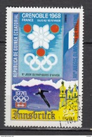 Guinée, Patinage Artistique, Figure Skating, Jeux Olympiques De Grenoble Olympic Games, Innsbruck, église, Church - Patinage Artistique