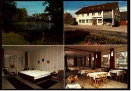 """Fichtenau / Wildenstein  -  Gasthof / Pension """"Zum Lamm""""  -  Mehrbild-Ansichtskarte Ca. 1985   (9199) - Hotels & Gaststätten"""