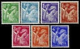 FRANCE, Iris, (*)/* MNG/MLH, F/VF - 1939-44 Iris