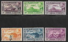 Ethiopia Scott # C23-8 Used Various Designs, 1947-55 - Ethiopia