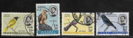 Ethiopia Scott #C77,79-81 Used Birds, 1963, C79 In Photo Has Small Tear At Bottom, Sound Copy Added To Lot - Ethiopia