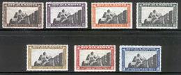SAN MARINO 1935 Mt. Titano Scott Cat. No(s). 161-167 MH - San Marino