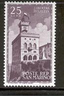 SAN MARINO 1945 Government Palace Scott Cat. No(s). 241 MH - San Marino