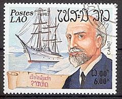Laos Mi.Nr. 681 O Seefahrer Jean-Baptiste Charcot (2019221) - Laos
