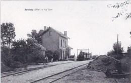 60 - Oise -  FROISSY  - La Gare ( Train Vapeur En Gare ) - Froissy