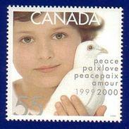 Canada 1999 Child & Dove Of Peace (#1813) MNH ! - 1952-.... Règne D'Elizabeth II