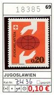 Jugoslawien - Yougoslavie - Jugoslavija - Michel Zw 36 - ** Mnh Neuf Postfris - - 1945-1992 Sozialistische Föderative Republik Jugoslawien