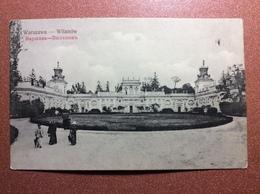 Antique Imperial Russia (W.Skiba, Warszawa) Postcard 1910s Warszawa - Wilanow - Polonia