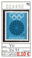 Jugoslawien - Yougoslavie - Jugoslavija - Michel Zw 41 - ** Mnh Neuf Postfris - - 1945-1992 Sozialistische Föderative Republik Jugoslawien